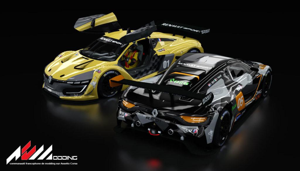 Assetto Corsa Mods - Renault R.S.01